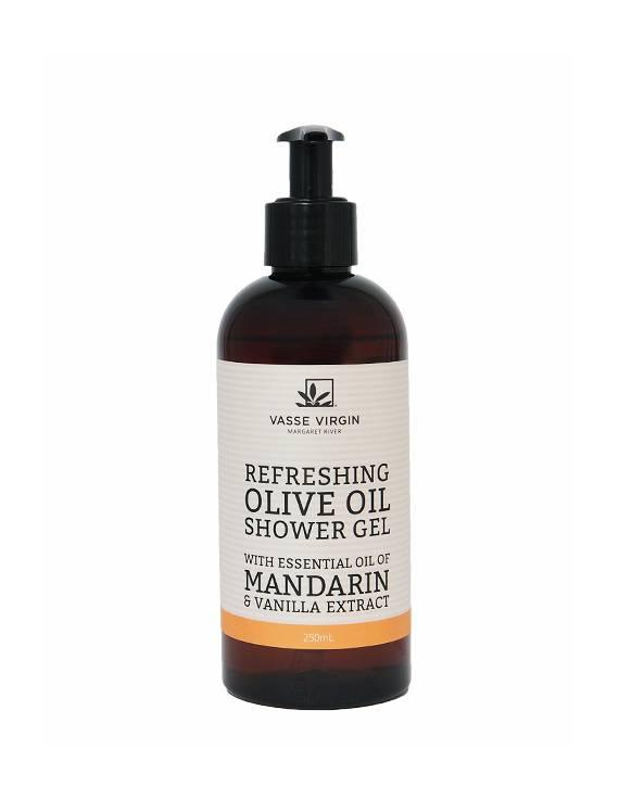 Mandarin & Vanilla Shower Gel 250ml