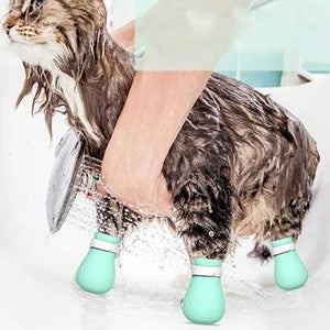 Pet Grooming Cat Paw Nail Cover Protector for Bathing - Couture Whiskers