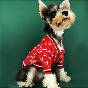 Fashion Cardigan Pet Sweater