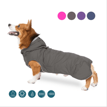 Load image into Gallery viewer, Cool Patchwork Winter Jacket - Couture Whiskers
