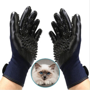 Hair Removal Shedding Gloves - Couture Whiskers