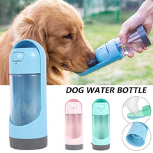 Load image into Gallery viewer, Portable Dog Water Bottle with Filter - Couture Whiskers