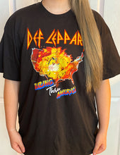Load image into Gallery viewer, Def Leppard Blazing Thru America