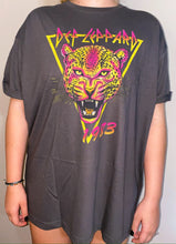 Load image into Gallery viewer, Def Leppard Neon Leppard Cat