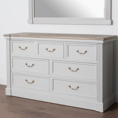 The Farmhouse Collection Seven Drawer Chest