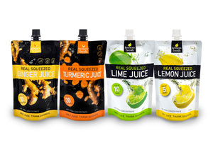 Mixed Citrus and Root Juice 8-pack
