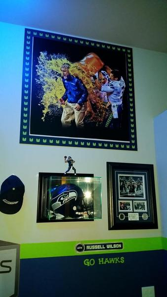 "Seahawks 12th Man Cave - Legion of ""Room"""