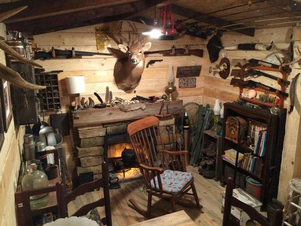 Man Caves of the Week - Incredible 1940's/1950's DIY Basement Man Cave!