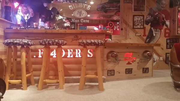 SF 49ers Man Cave Accessories