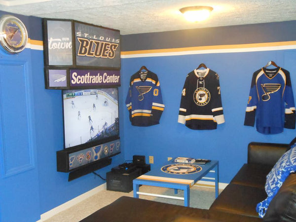 St. Louis Blues Man Cave Ideas