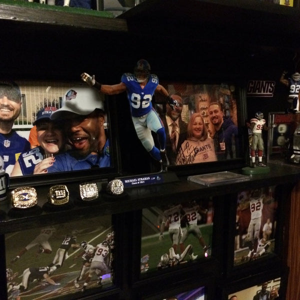 NY Giants Ultimate Man Cave Ideas