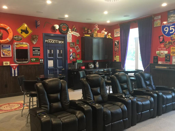 Man Cave Recliner Chairs : Man cave essentials does your represent you u