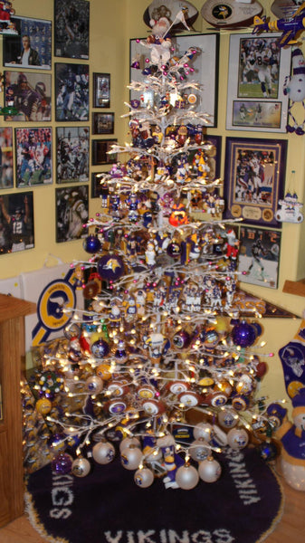 Minnesota Vikings Christmas Man Cave