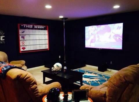 New York to Miami Man Cave