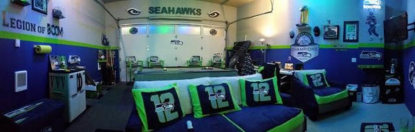 Seahawks 12th Man Cave Legion Of Quot Room Quot Man Cave Authority