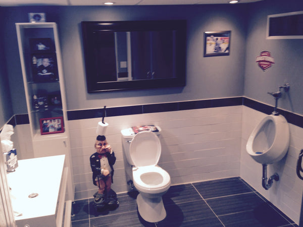 Man Cave Toilet : Tips and ideas for a successful man cave decor intended small