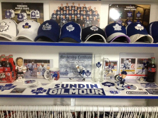 Man Cave Hockey Signs : Awesome man caves of the week august u cave authority