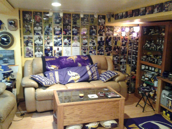 Vikings Man Cave Ideas : The craziest minnesota vikings man cave of all time