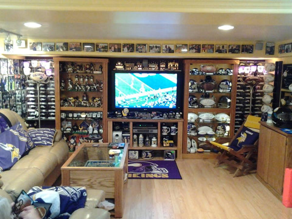 Man Cave Signs Vikings : The craziest minnesota vikings man cave of all time
