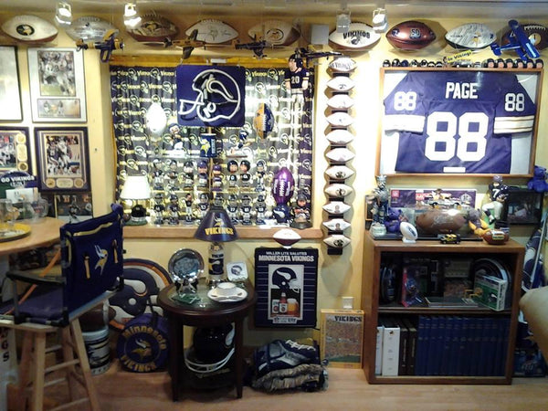 Vikings Man Cave Ideas : The craziest minnesota vikings man cave of all time —