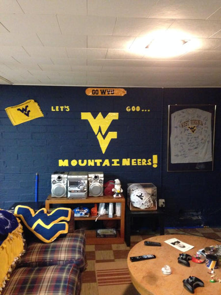 Epic Wvu Mountaineer Man Cave Man Cave Authority