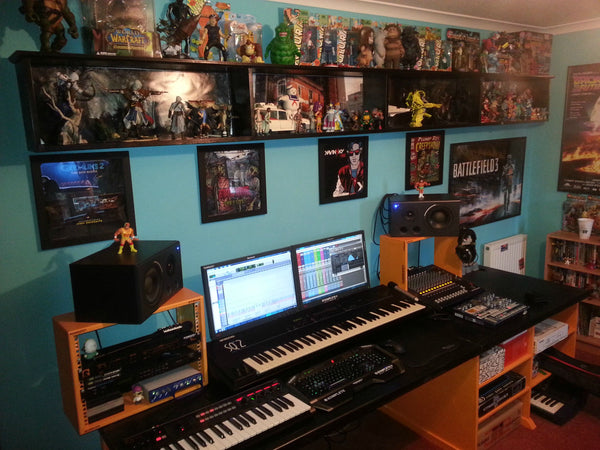 Music area for the battle-station.