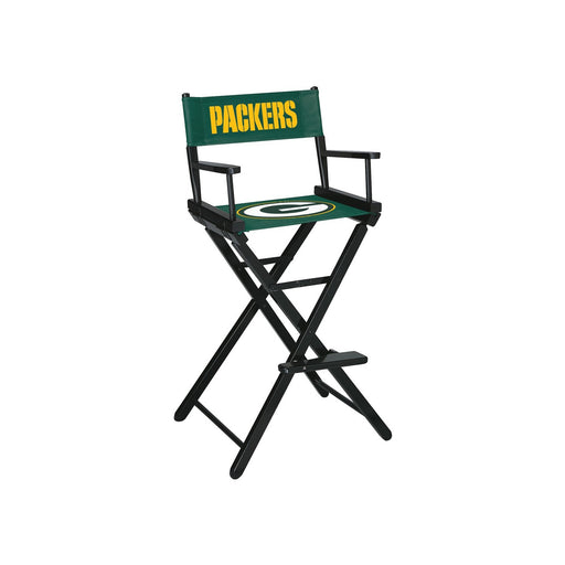 Green Bay Packers Bar Height Directors Chair | Man Cave Authority | IMP 100-1001