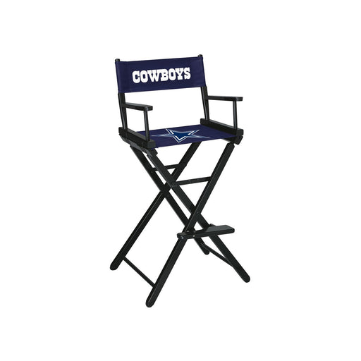Dallas Cowboys Bar Height Directors Chair | Man Cave Authority | IMP 100-1002