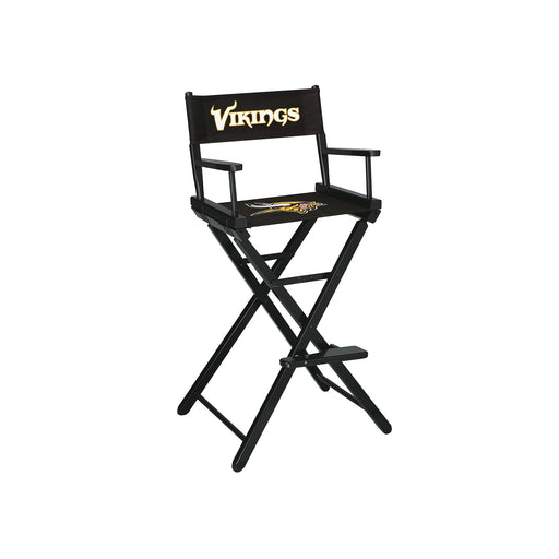 Minnesota Vikings Bar Height Directors Chair | Man Cave Authority | IMP 100-1007