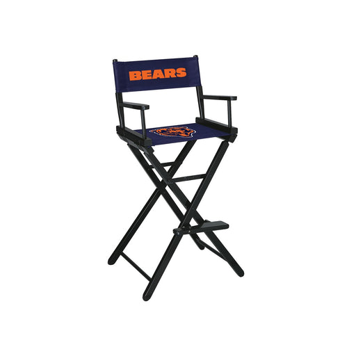 Chicago Bears Bar Height Directors Chair | Man Cave Authority | IMP 100-1019