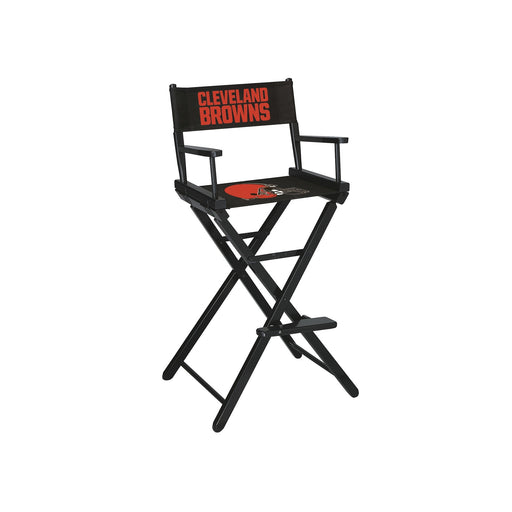 Cleveland Browns Bar Height Directors Chair | Man Cave Authority | IMP 100-1020
