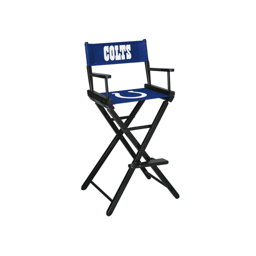 Indianapolis Colts Bar Height Directors Chair | Man Cave Authority | IMP 100-1022