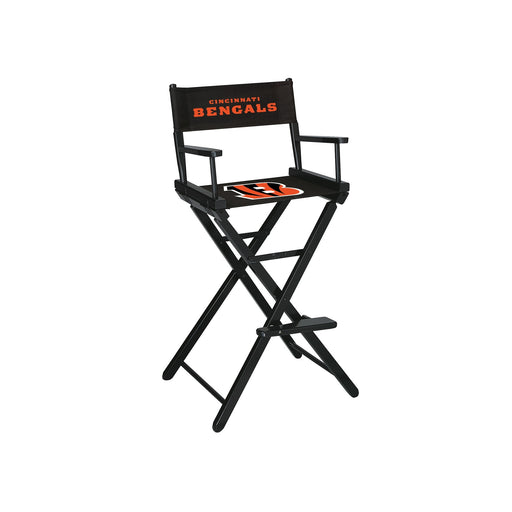Cincinnati Bengals Bar Height Directors Chair | Man Cave Authority | IMP 100-1023