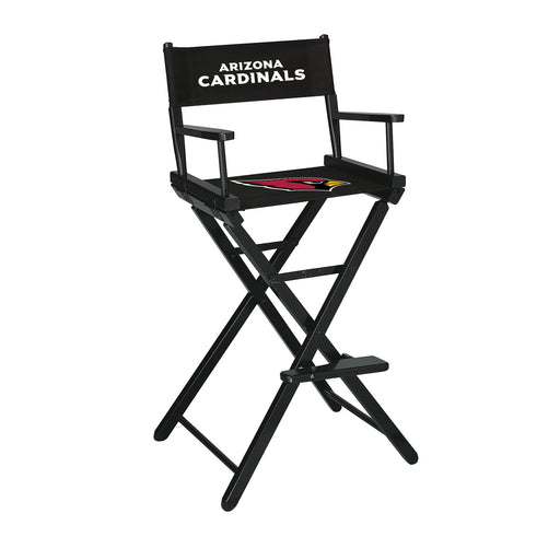 Arizona Cardinals Bar Height Directors Chair | Man Cave Authority | IMP 100-1029