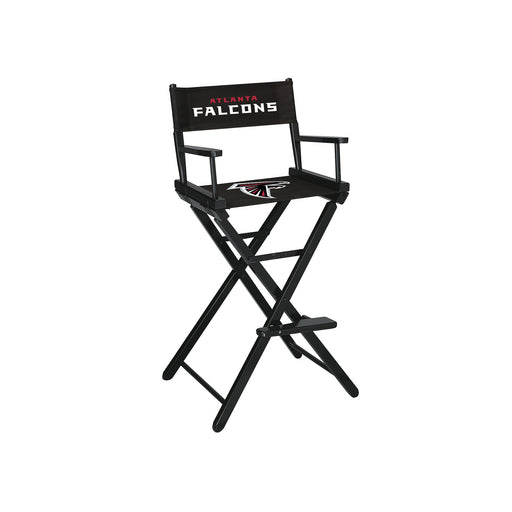 Atlanta Falcons Bar Height Directors Chair | Man Cave Authority | IMP 100-1030