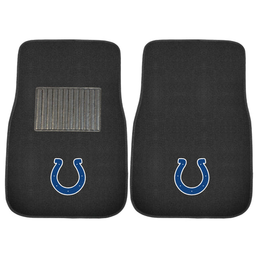 Indianapolis Colts 2-pc Embroidered Car Mat Set | Man Cave Authority | 10299