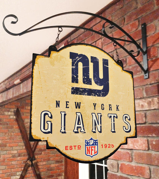New York Giants Tavern Sign | Man Cave Decor | 11209