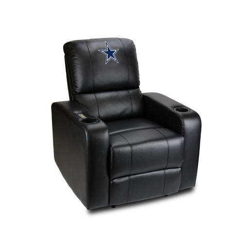 Dallas Cowboys Power Theater Recliner with USB Port | Man Cave Authority | 117-1002