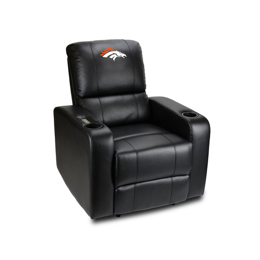 Denver Broncos Power Theater Recliner with USB Port | Man Cave Authority | 117-1003
