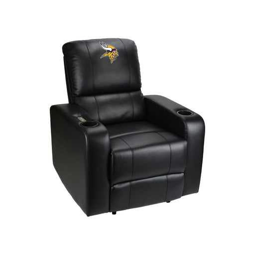 Minnesota Vikings Power Theater Recliner with USB Port  | Man Cave Authority | 117-1007