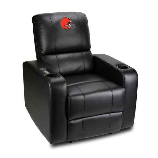 Cleveland Browns Power Theater Recliner with USB Port  | Man Cave Authority | 117-1020
