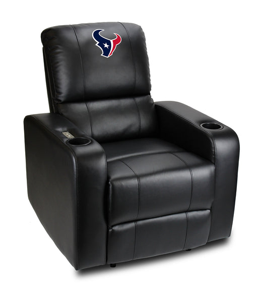 Houston Texans Power Theater Recliner with USB Port | Man Cave Authority | 117-1034