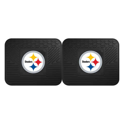 Pittsburgh Steelers 2 Utility Mats | Man Cave Authority | 12302