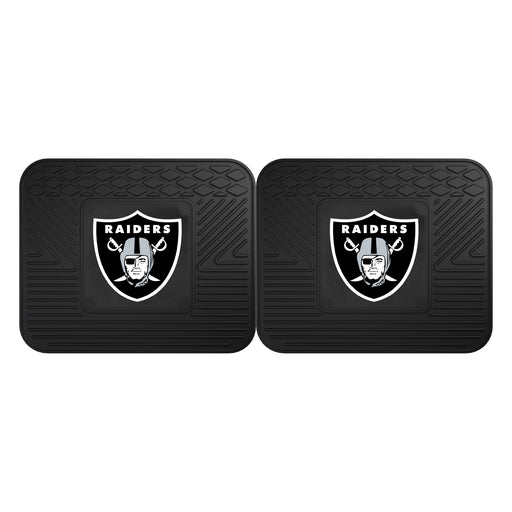 Oakland Raiders 2 Utility Mats | Man Cave Authority | 12318