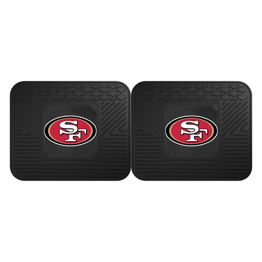 San Francisco 49ers 2 Utility Mats | Man Cave Authority | 12358
