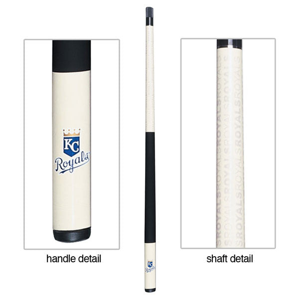 Kansas City Royals Billiard Cue Stick Close-up View