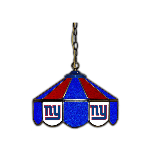 New York Giants Stained Glass Pub Lamp | Man Cave Authority | IMP 133-1013