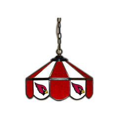 Arizona Cardinals Stained Glass Pub Lamp | Man Cave Authority | IMP 133-1029