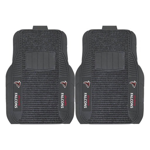 Atlanta Falcons 2-pc Deluxe Car Mat Set | Man Cave Authority | 13798