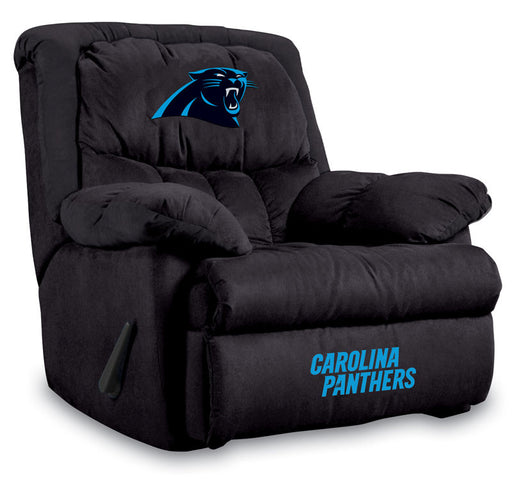 Carolina Panthers Microfiber Home Team Recliner | Man Cave Authority | IMP  141-1017